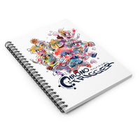 Chrono RPG Ruled Spiral Notebook