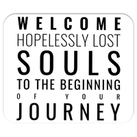"""Hopelessly Lost Souls"" Mousepad"