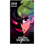 Room of Swords 2020 Wall Calendar