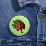 """Chocoberry"" Pin"