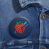 """Strawbarrow"" Pin"