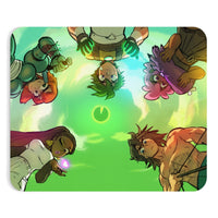 """Chartreuse Skies"" Mousepad"