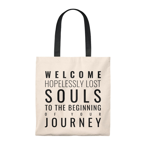 """Hopelessly Lost Souls"" Tote Bag"