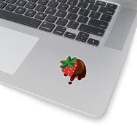 """Chocoberry"" Kiss-Cut Stickers"