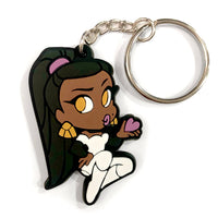 Nephthys Soft Rubber Keychain