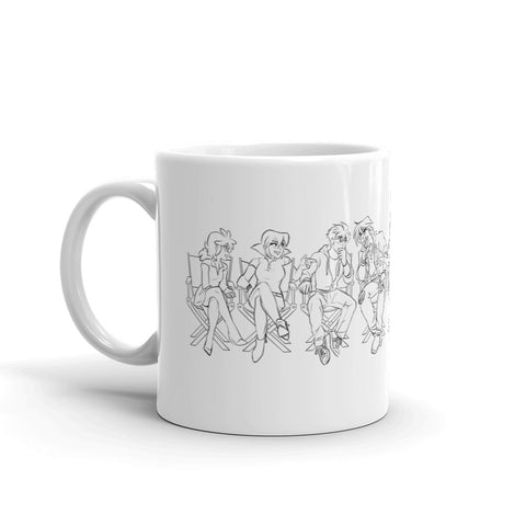 """Room of Swords"" Cast - Mug"