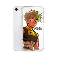 "Gyrus ""Room of Swords"" iPhone Case"