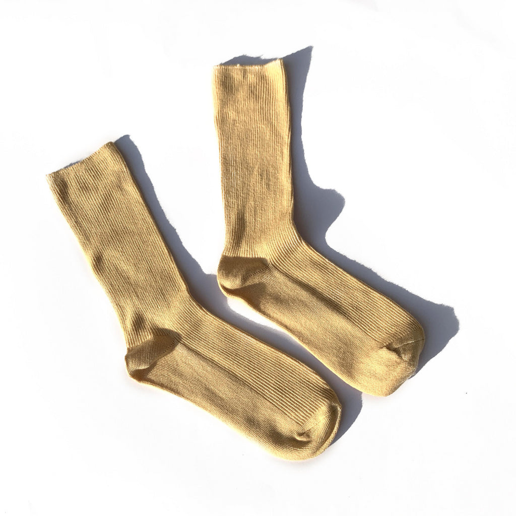 Slide Socks - Beige