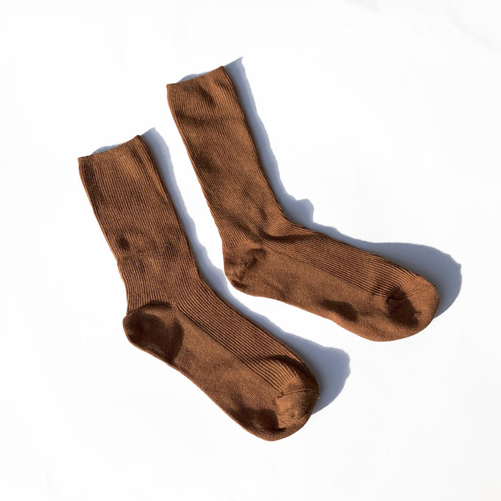Slide Socks - Taupe