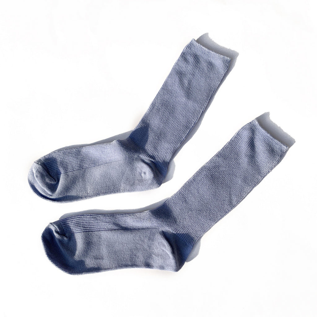 Slide Socks - Light Blue