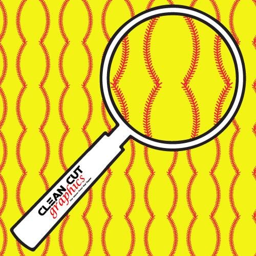 Softball Adhesive Pattern