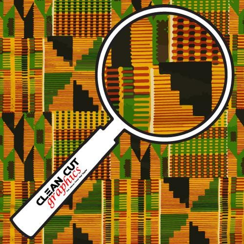 Kente Adhesive Pattern
