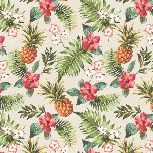 Tropical 1 Adhesive Pattern - Clean Cut Graphics LLC