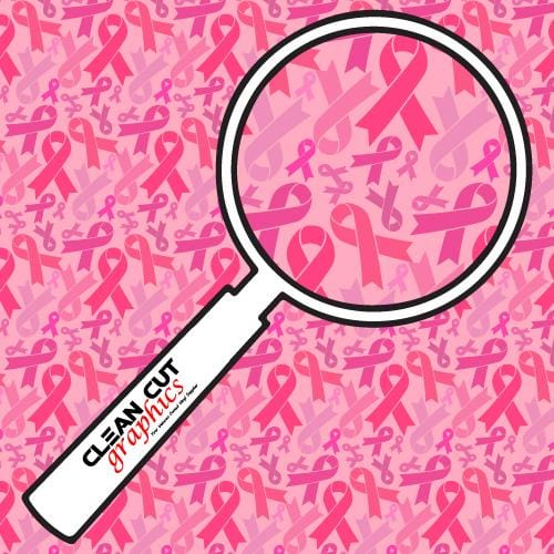 Breast Cancer Ribbons HTV Pattern - Clean Cut Graphics LLC
