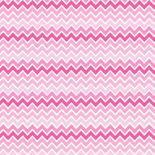 Pink Chevron HTV Pattern - Clean Cut Graphics LLC