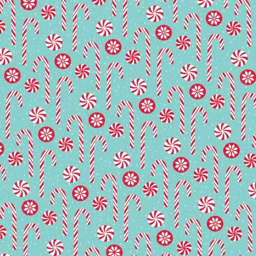 Candy Canes & Mints HTV Pattern - Clean Cut Graphics LLC