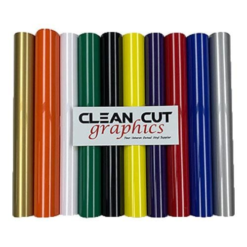 Siser Easyweed 5ft Roll Bundle - Standard Colors
