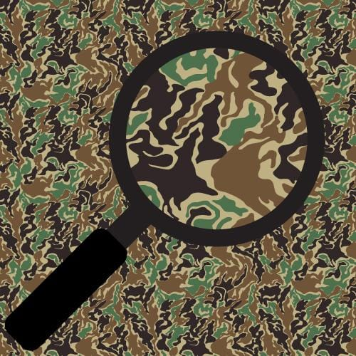 Green & Brown Camo Adhesive Pattern