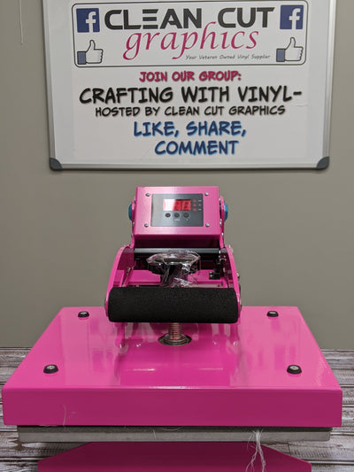 "9"" x 12"" Craft Heat Press - Clean Cut Graphics LLC"