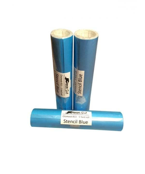 Oramask 813 Blue Stencil Vinyl - Clean Cut Graphics LLC