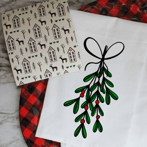 Vintage Christmas - Swedish Dishcloth