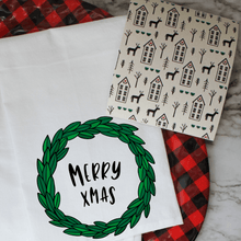 Load image into Gallery viewer, Vintage Christmas - Swedish Dishcloth