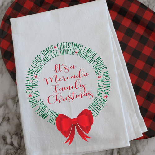 Our Christmas Traditions - Personalized