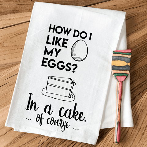 Eggs In A Cake