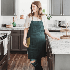 Emerald - The All-Day Classic Apron