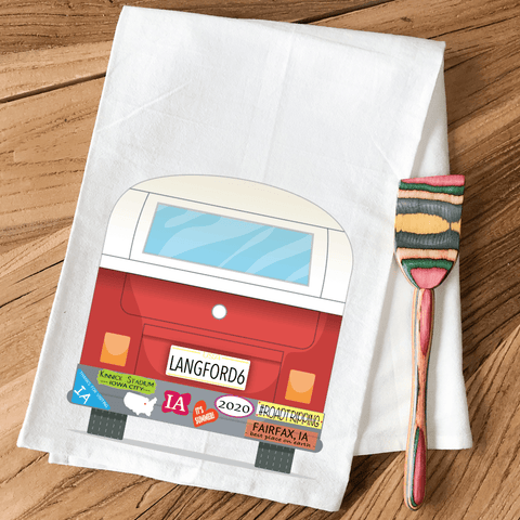 Road Trip Towel - Personalized