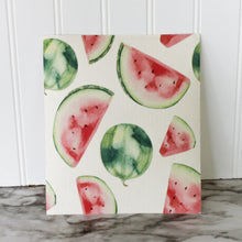 Load image into Gallery viewer, Melon Craze - Swedish Dishcloth