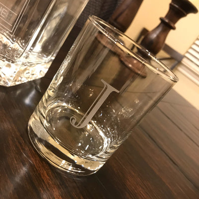 Engraved Whiskey Decanter Set Personalized