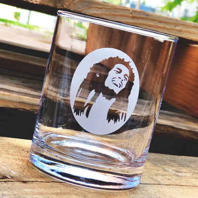 Bob Marley (silhouette) Whiskey Glass Set