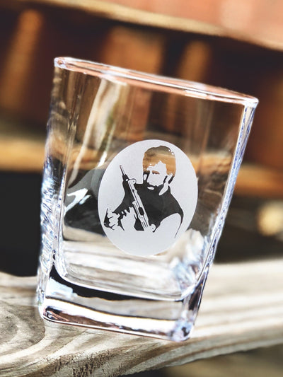 Chuck Norris Whiskey Glass Set