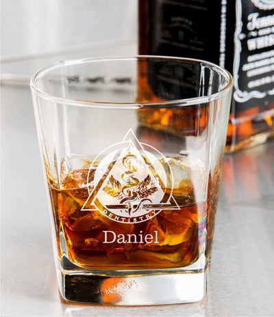 Dental / Dentist Whiskey Glass Set
