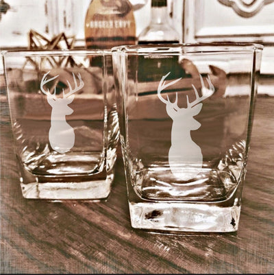 Buck Whiskey Glass Set