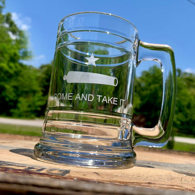 Come and Take It Tankard Beer Mug