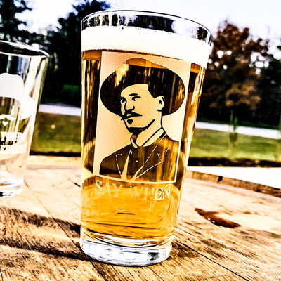 Doc Holliday (Say When)- Pint Glass Set of 2