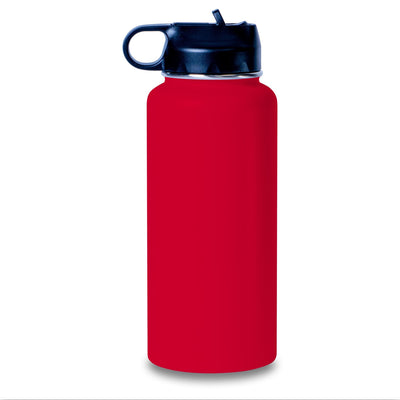 Hydro Water Bottles 32 ounce Etched - High Five - Personalized Engraved Hydro Water Flask Style