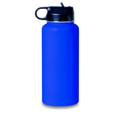 Hydro Water Bottles 32 ounce Etched - Your Name - Personalized Engraved Hydro Water Flask Style