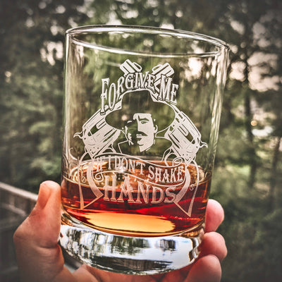 Doc Holliday Forgive Me If I Don't Shake Hands / Whiskey Glass