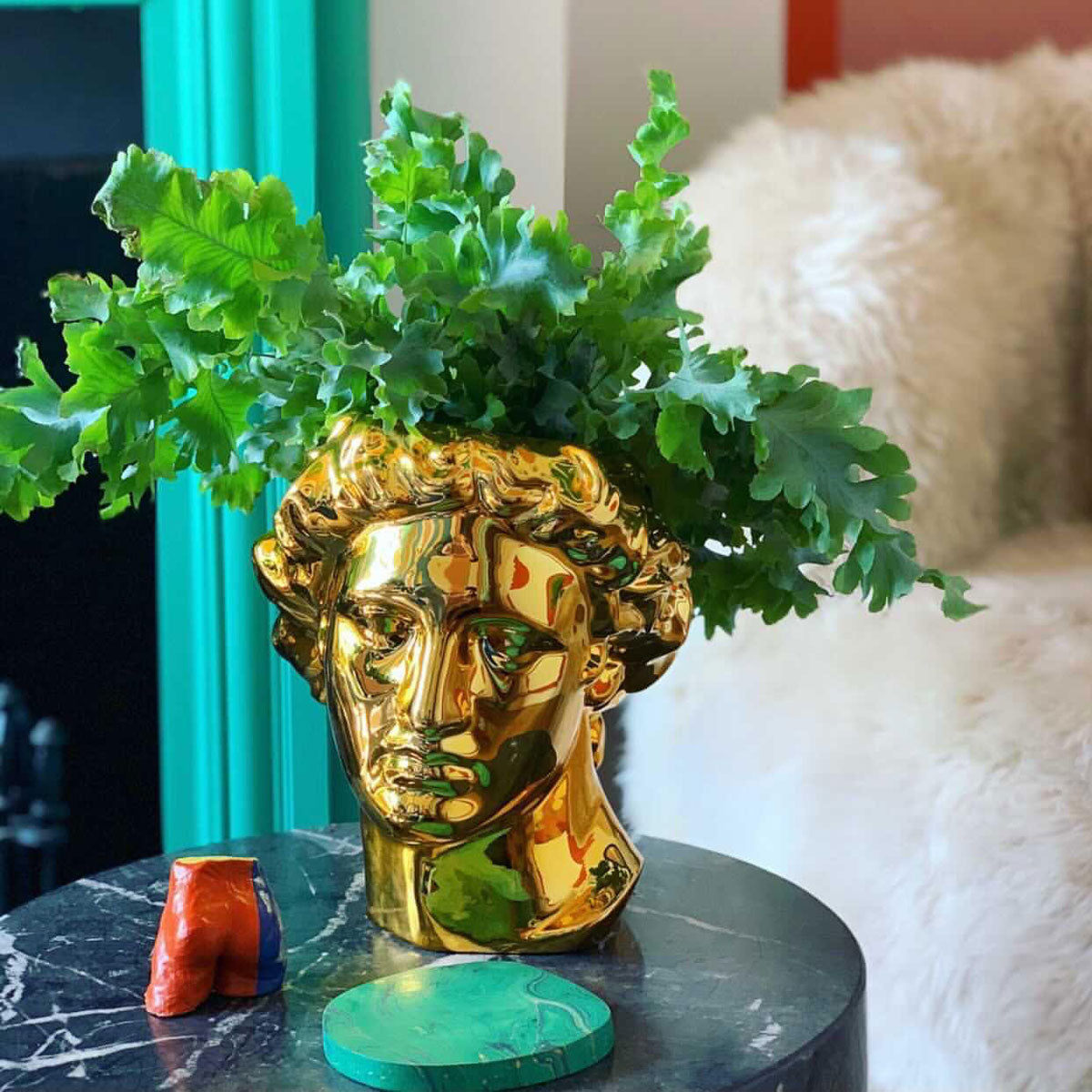 Courthouse X DOIY Collaboration Apollo Vase Gold