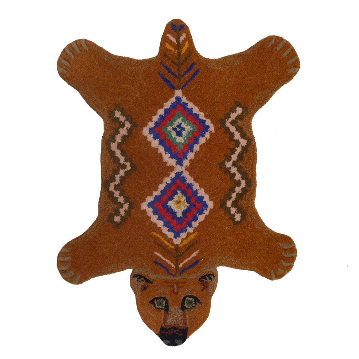 Aztec Bear Rug Small