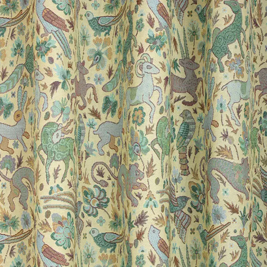 Courthouse Interiors Tapestry Fabric Cream