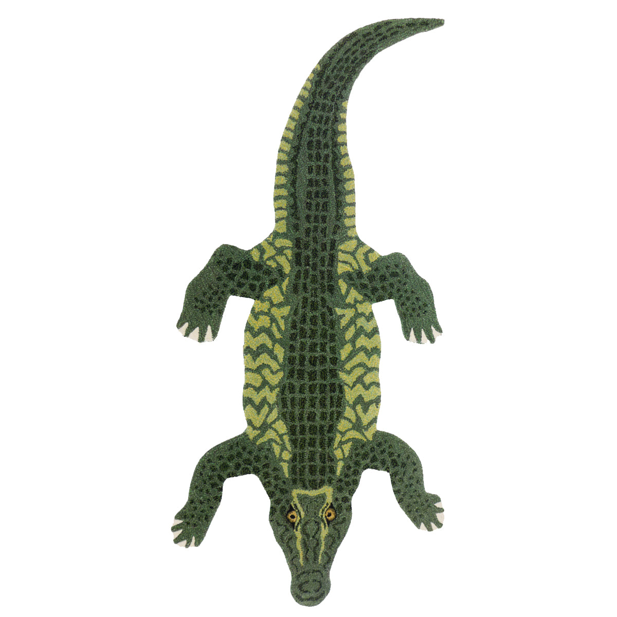 Crocodile Rug Large