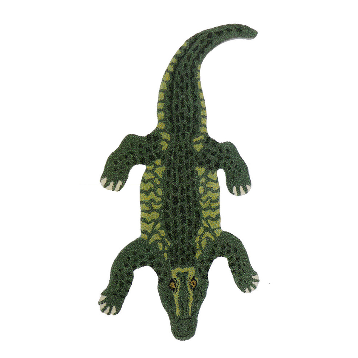 Crocodile Rug Small