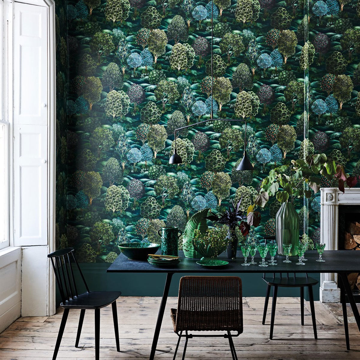 Cole & Son 'Forest' Wallpaper