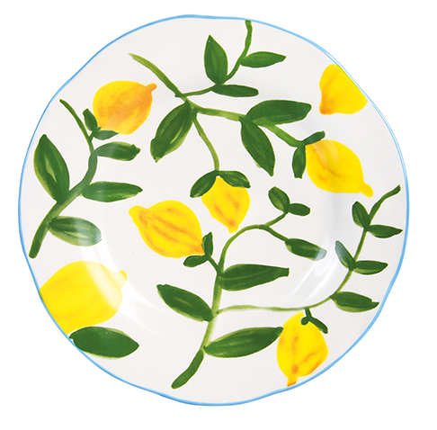 Lemon Twig Plate Green