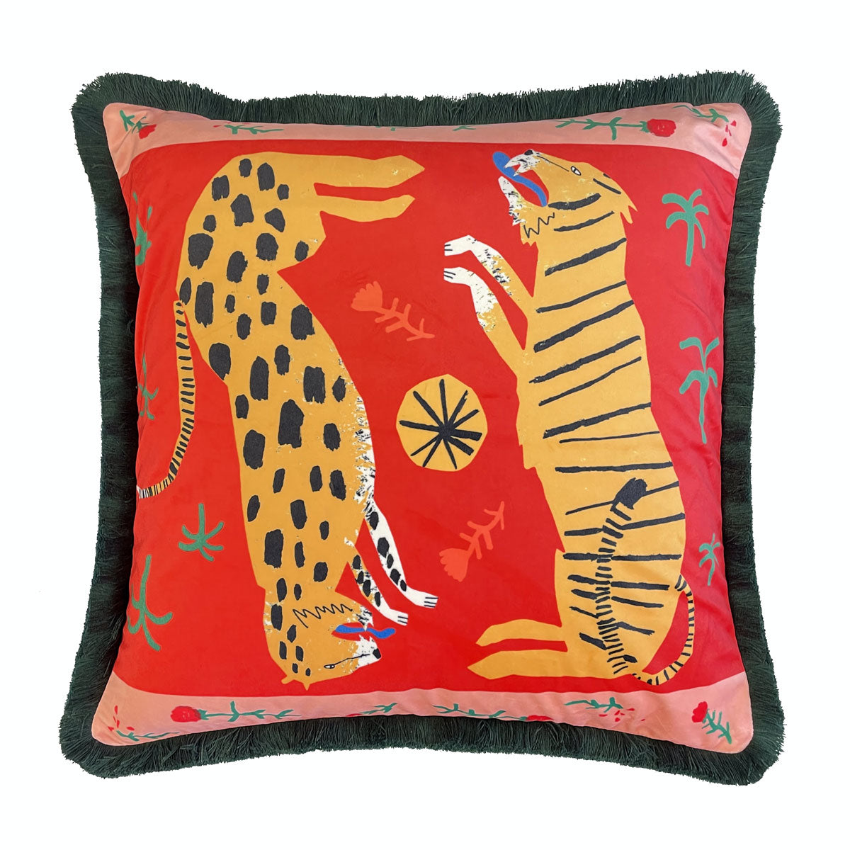 Courthouse X James Daw - 'Big Cats Don't Cry' Cushion