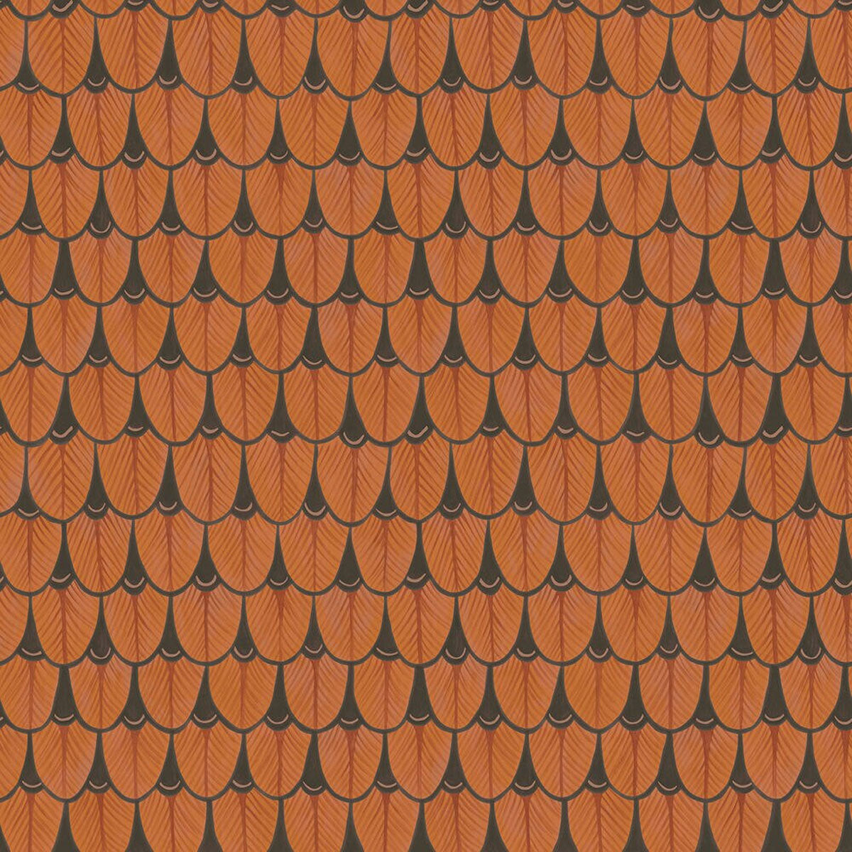 Cole & Son 'Narina Burnt Orange' Wallpaper